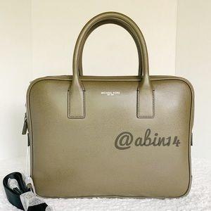 NWT Michael Kors Leather Laptop Bag Briefcase